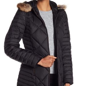 Marc New York Andrew Marc Womens Quilted Down Coat